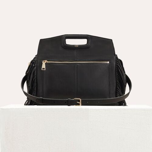 MWALK bag with suede fringe : M Walk color Black 210