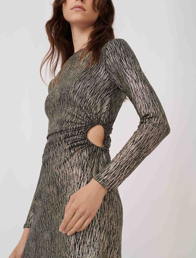 Stretch fabric figure-hugging dress - Dresses - MAJE