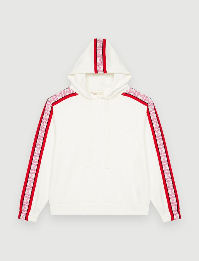 Hooded sweatshirt -  - MAJE