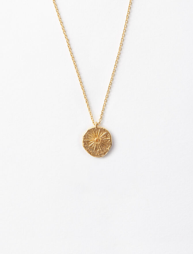 """""""Mon Soleil"""" gold-plated necklace -  - MAJE"""