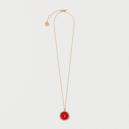 Number 7 medallion - Jewelry - MAJE