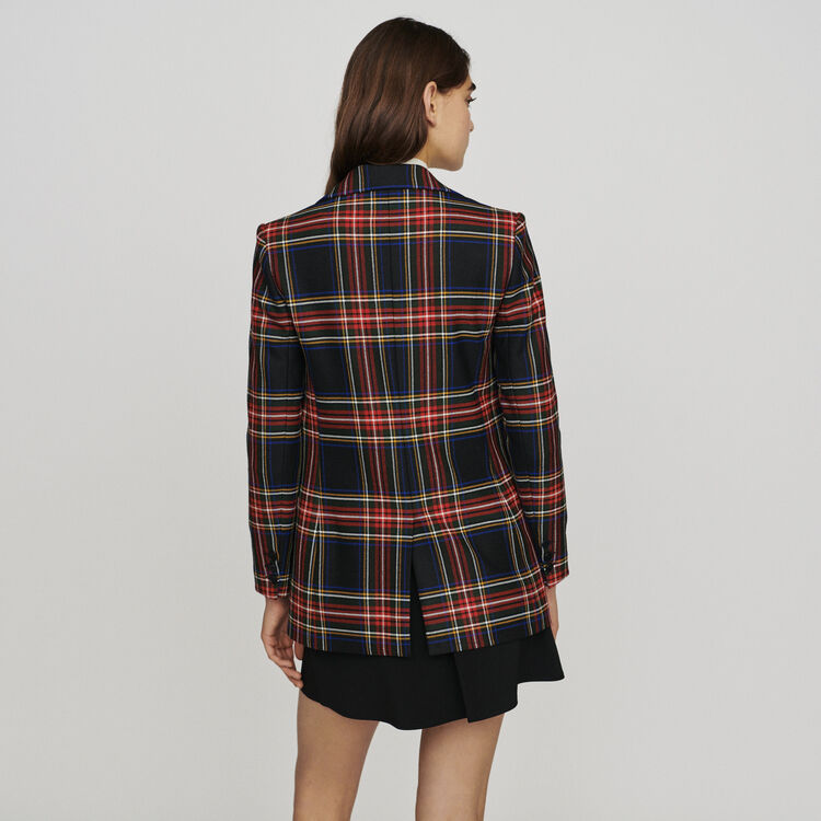 Plaid suit jacket : Blazers color CARREAUX