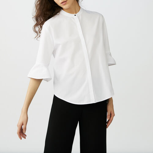 Oversize poplin shirt : Shirts color White