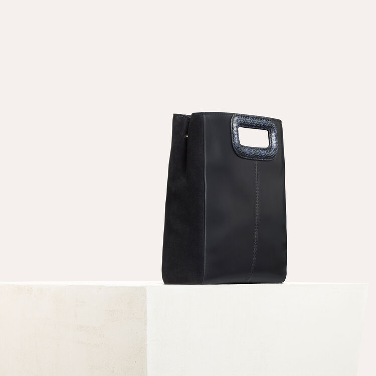 Leather bag : M bags color Two-Tone