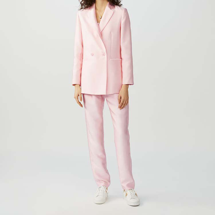 Satin blazer : Blazers color Pink