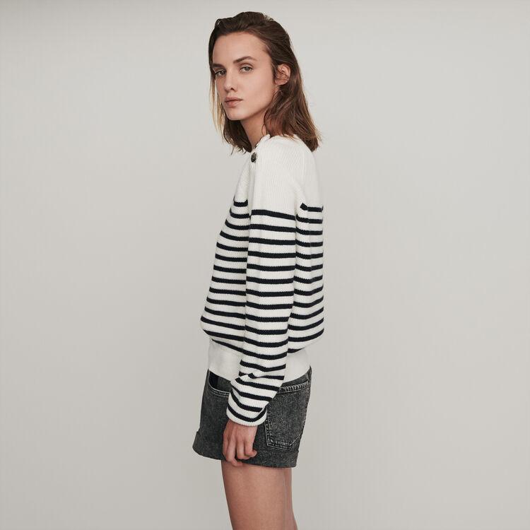 Sailor sweater : Pullovers & Cardigans color Ecru