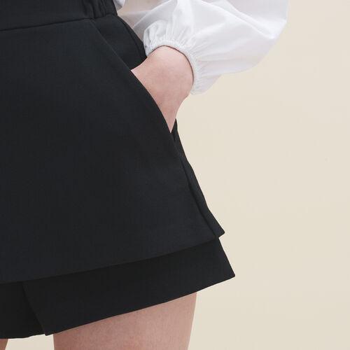 2-in-1 shorts - Skirts & Shorts - MAJE