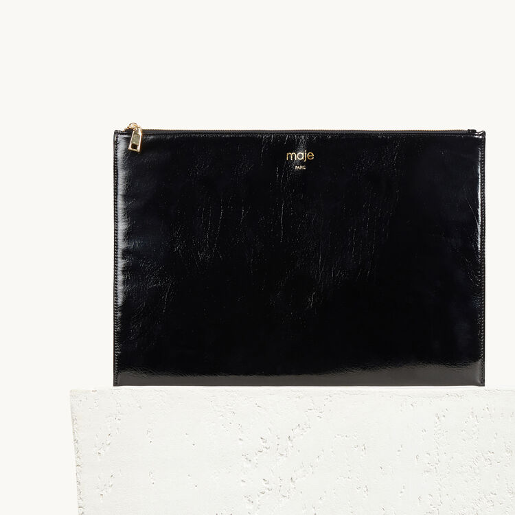 Clutch : Gift with purchase color Black 210