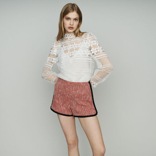 360646dcb9 Skirts & Shorts true Tweed-style shorts : Skirts & Shorts color Red