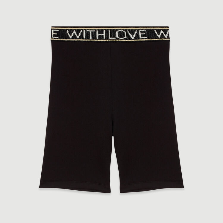 Short with love : Skirts & Shorts color Black 210