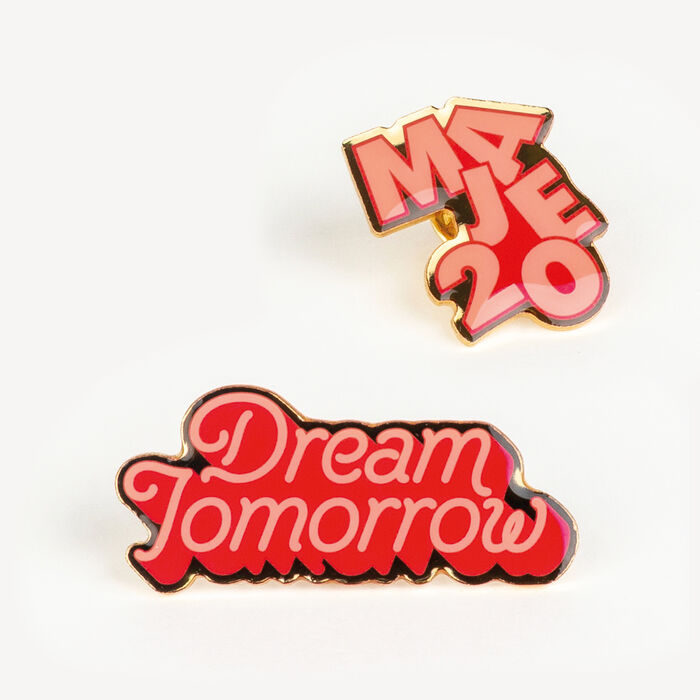 Pin Badges X 20 years : See all color Multico