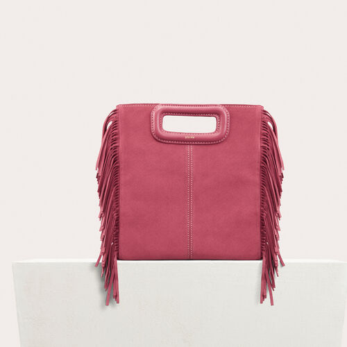 Suede M bag : -50% color Pink