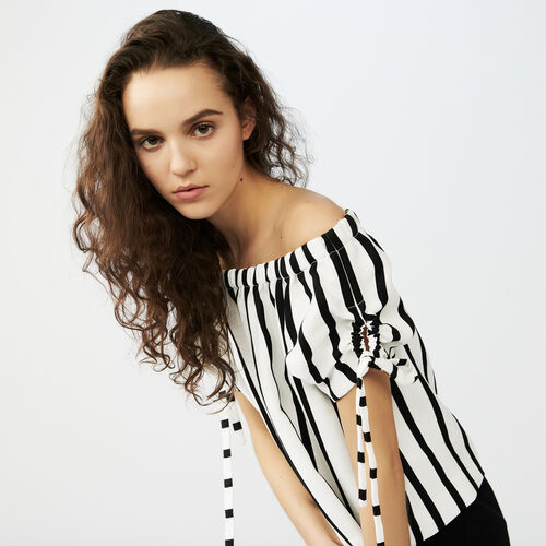 Striped crop top : See all color Stripe