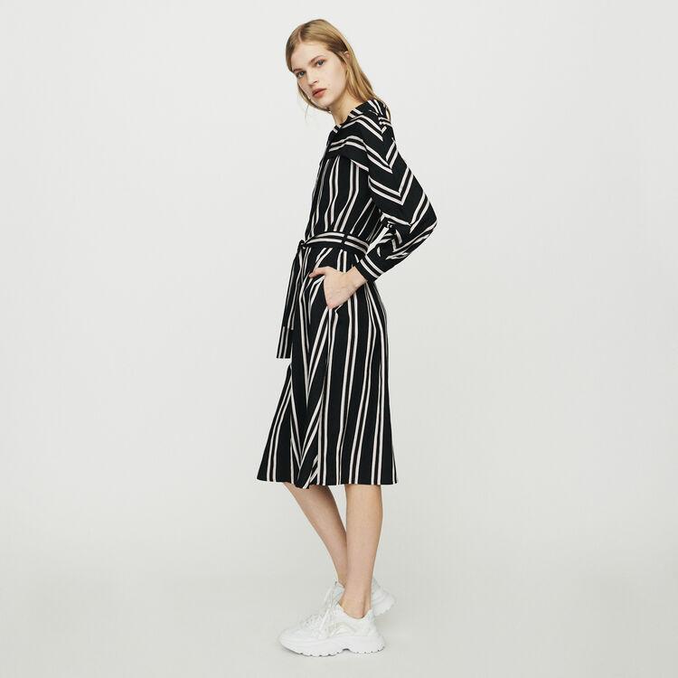 Striped shirt dress : Dresses color Stripe