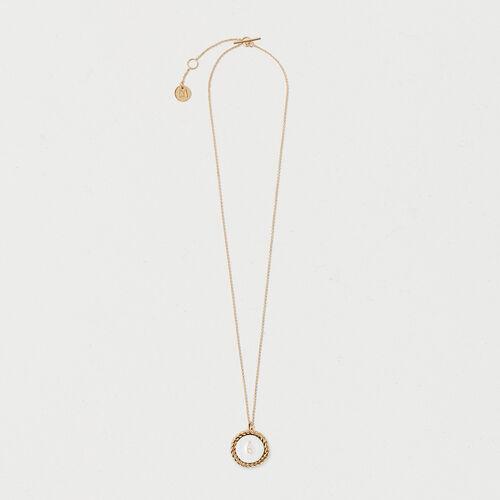 Number 6 medallion - Jewelry - MAJE
