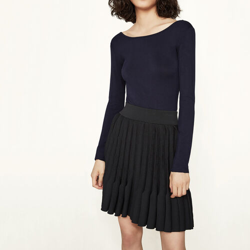 Long-sleeved body : T-shirts color Navy