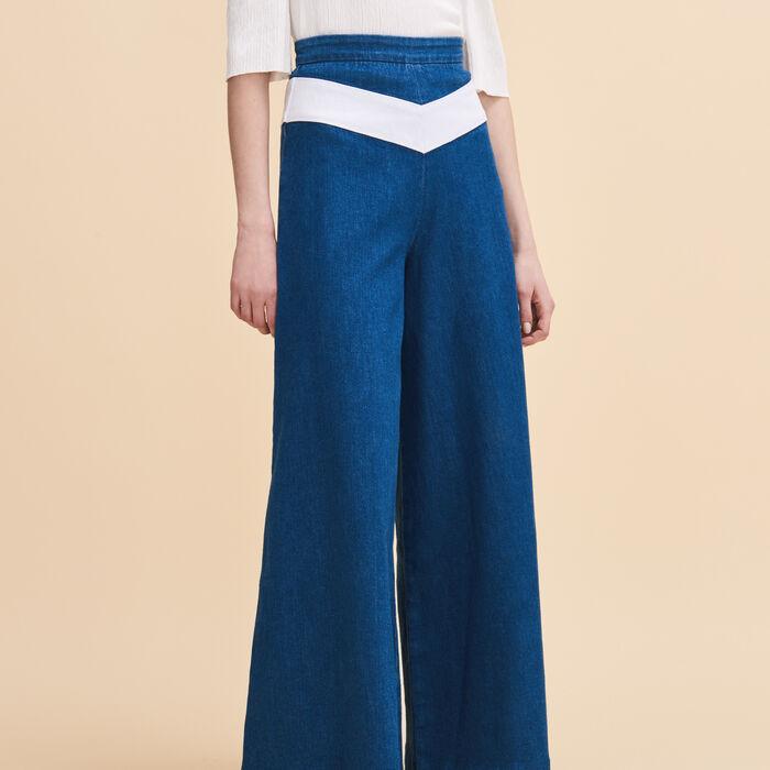 Denim culottes - Summer Collection - MAJE
