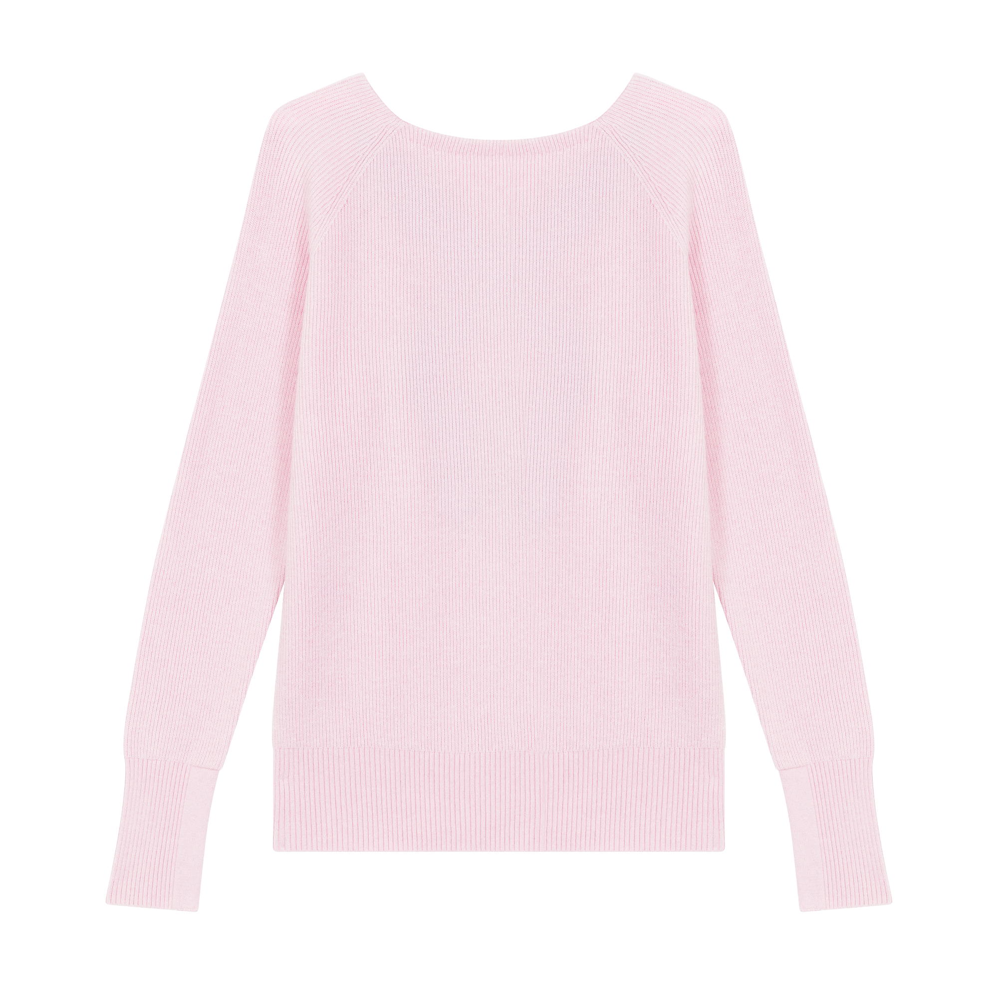 Jumper with low neckline at the back - Knitwear - MAJE
